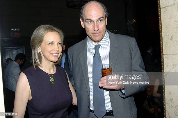 """James Taylor and wife Kim Taylor are at Cipriani 42nd St. For the annual New York """"Forces for Nature"""" gala benefiting the Natural Resources Defense..."""