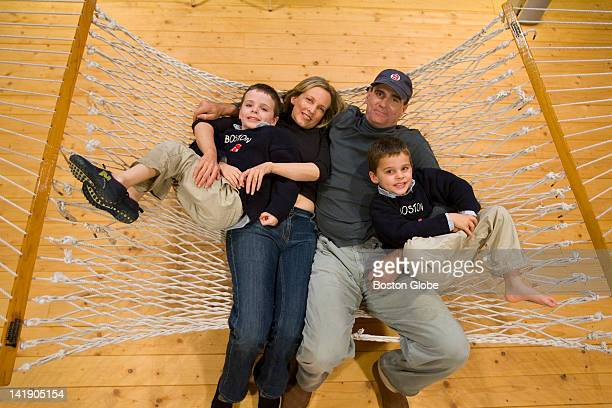 James Taylor has settled comforatbly into his home in the Berkshires set amid 50 wooded acres with his third wife Kim Smedvig and their twin sons...