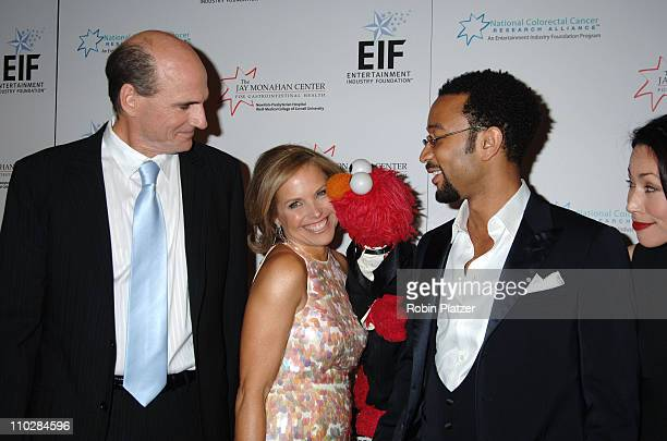 James Taylor Katie Couric Elmo and John Legend and Ann Curry