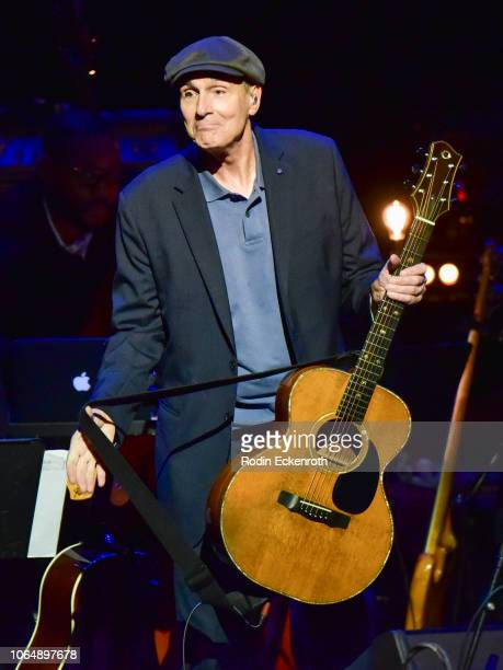 James Taylor onstage at JONI 75 A Birthday Celebration Live at Dorothy Chandler Pavilion on November 07 2018 in Los Angeles California