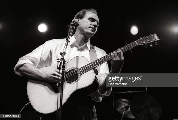 James Taylor performs at Carre Amsterdam Netherlands 24th March 1986