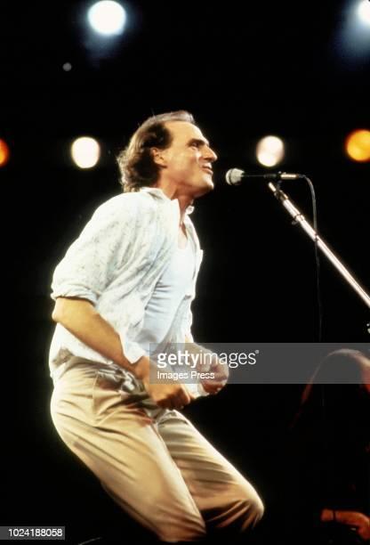 James Taylor performs at Rock in Rio circa 1985 in Rio