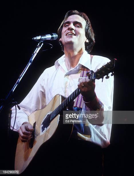 James Taylor performs at the Marin Civic Auditorium in San Rafael California November 21 1977