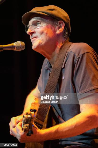 James Taylor performs at the Massachusetts Museum of Contemporary Art Mass MoCA on December 9 2018 in North Adams Massachusetts