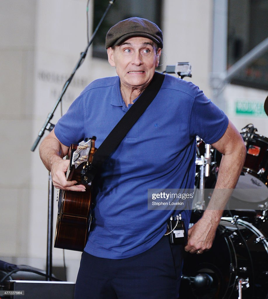 """James Taylor Performs On NBC's """"Today"""""""