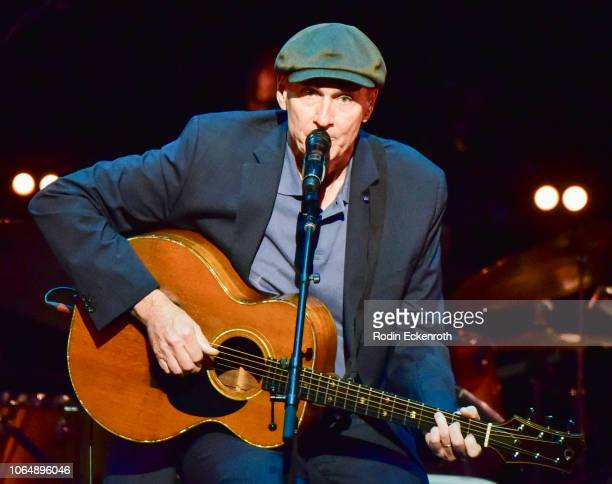 James Taylor performs onstage at JONI 75 A Birthday Celebration Live at Dorothy Chandler Pavilion on November 07 2018 in Los Angeles California