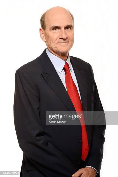 James Taylor poses for a portrait during the Revlon concert for the Rainforest Fund at Carnegie Hall on April 3 2012 in New York City