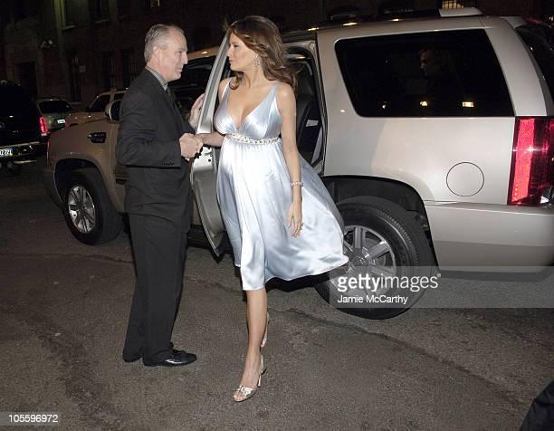James Taylor President of Cadillac and Melania Trump