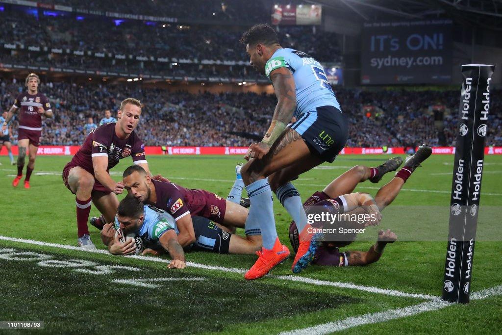 State of Origin - NSW v QLD: Game 3 : News Photo