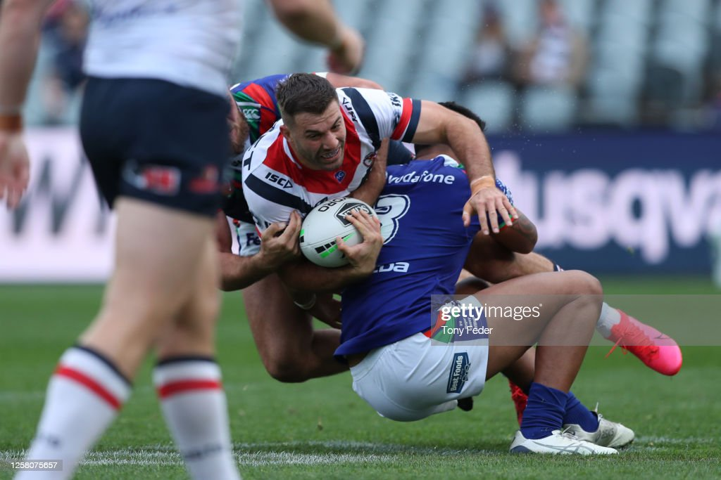 NRL Rd 11 - Warriors v Roosters : News Photo