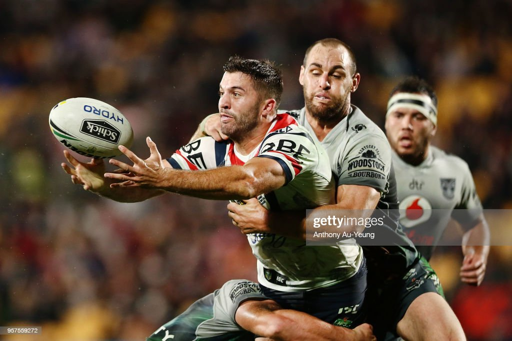 NRL Rd 10 - Warriors v Roosters