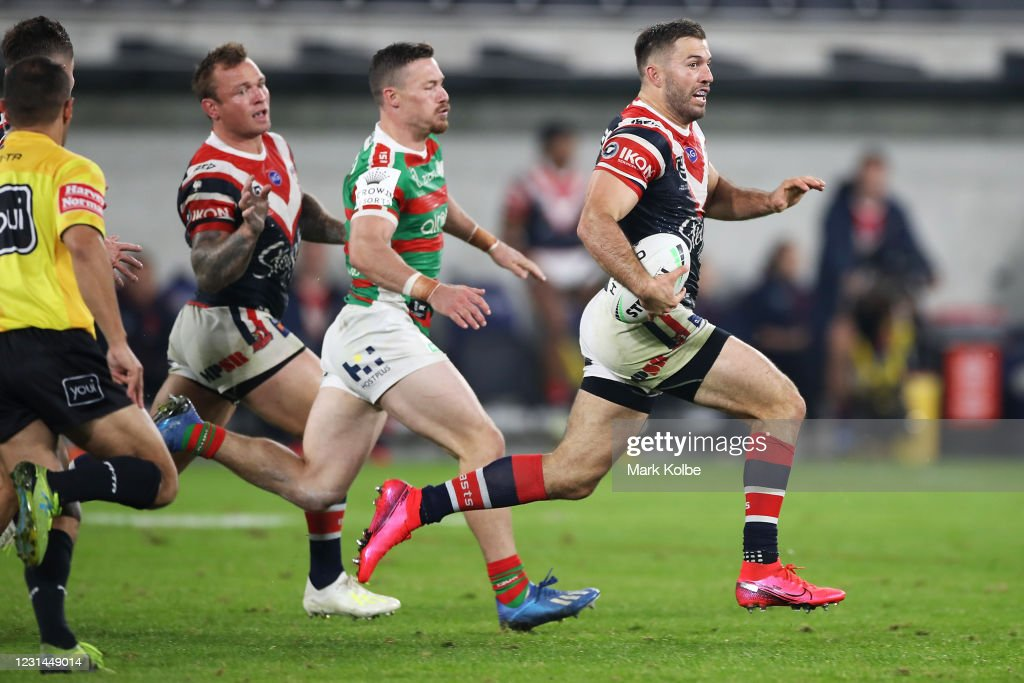 NRL Rd 3 - Roosters v Rabbitohs : News Photo