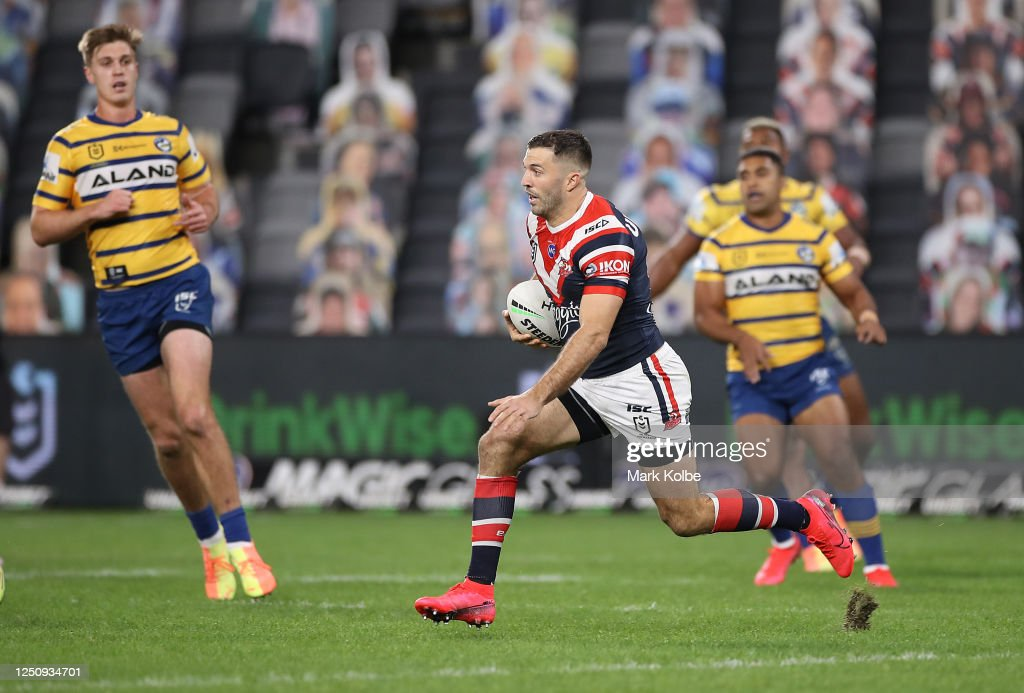 NRL Rd 6 - Roosters v Eels : News Photo