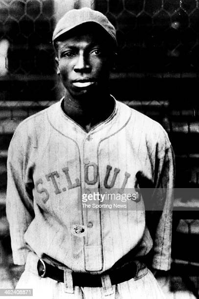 """James Thomas """"Cool Papa"""" Bell of the St. Louis Stars of the Negro Baseball League looks on circa 1924 in St. Louis, Missouri."""