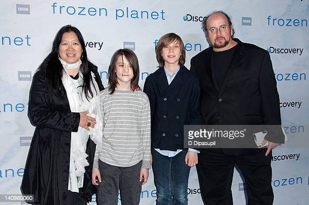 """James Toback and guests attend the """"Frozen Planet"""" premiere at Alice Tully Hall, Lincoln Center on March 8, 2012 in New York City."""