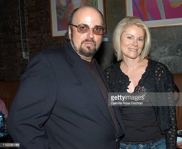James Toback and Stephanie Toback during 'When Will I Be Loved' New York Premiere After Party at Ruby Falls in New York City New York United States