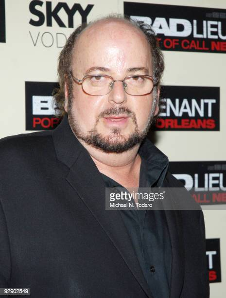 James Toback attends a screening of 'Bad Lieutenant' at the SVA Theater on November 8 2009 in New York City