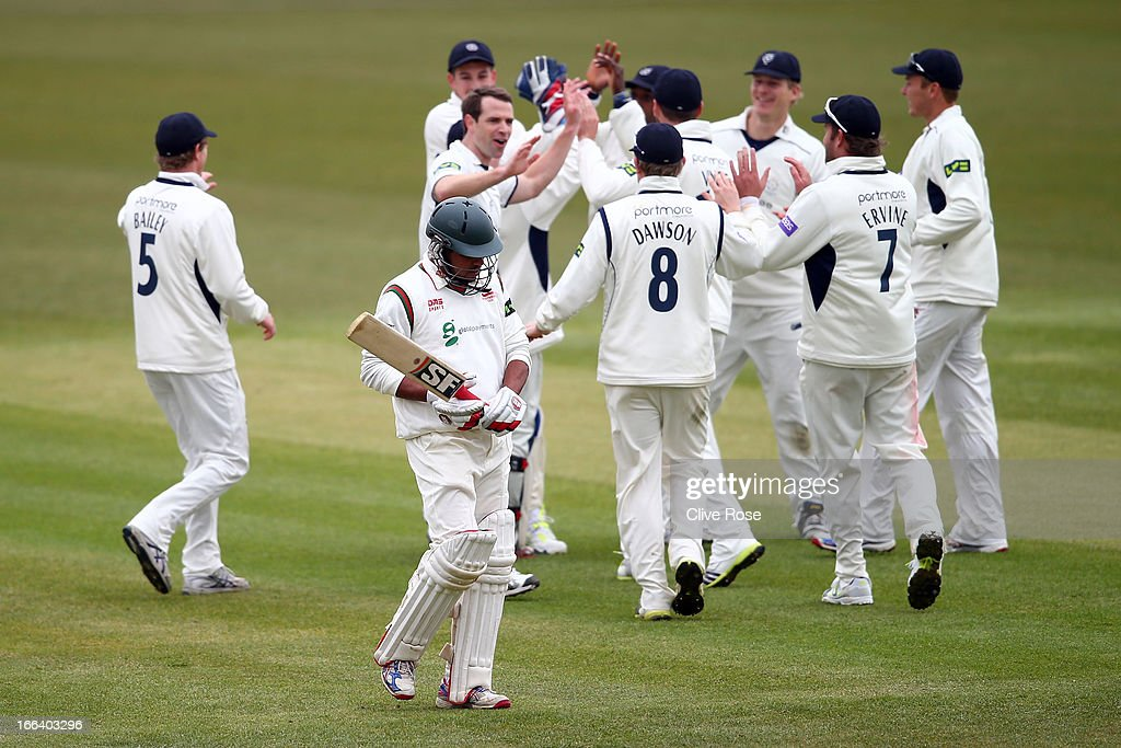 Hampshire v Leicestershire - LV County Championship