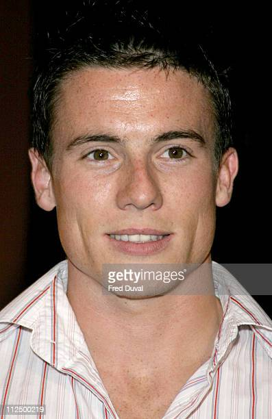 """James Toseland during """"Hell's Kitchen II"""" - Day 12 - Arrivals at Brick Lane in London, Great Britain."""