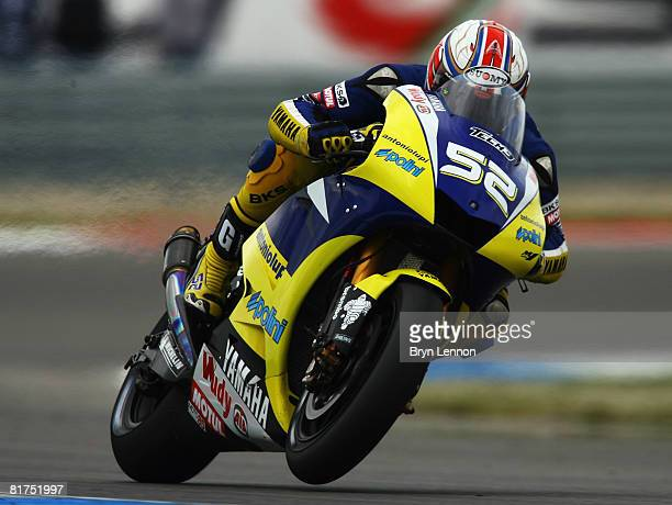 James Toseland of Great Britain and the Tech 3 Yamaha Team in action during the Dutch MotoGP race at the Assen TT Circuit on June 28 2008 in Assen...
