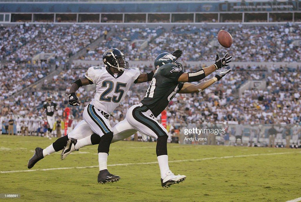 Eagles v Jaguars : Nachrichtenfoto