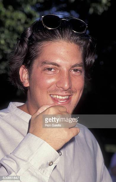 James Trezza attends Jackson Pollack Home Landmark Dedication Ceremony on July 9 1995 in East Hampton New York