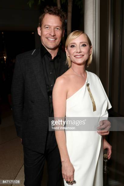 James Tupper and Anne Heche attend The Hollywood Reporter and SAGAFTRA Inaugural Emmy Nominees Night presented by American Airlines Breguet and Dacor...