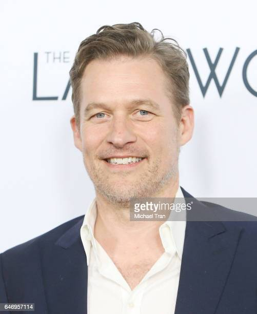 James Tupper arrives at the Los Angeles premiere of The Last Word held at ArcLight Hollywood on March 1 2017 in Hollywood California
