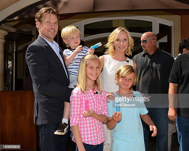 James Tupper Atlas Heche Tupper Anne Heche and Homer Laffoon are sighted on August 27 2012 in Los Angeles California