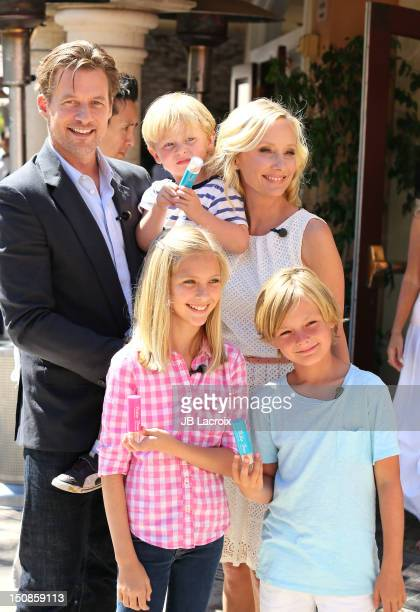 James Tupper Atlas Heche Tupper Anne Heche and Homer Laffoon are seen at The Grove on August 27 2012 in Los Angeles California