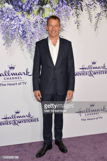 James Tupper attends the 2018 Hallmark Channel Summer TCA at Private Residence on July 26 2018 in Beverly Hills California