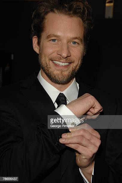 James Tupper attends The 22nd Annual Gemini Awards at the Conexus Arts Centre on October 28, 2007 in Regina, Canada.