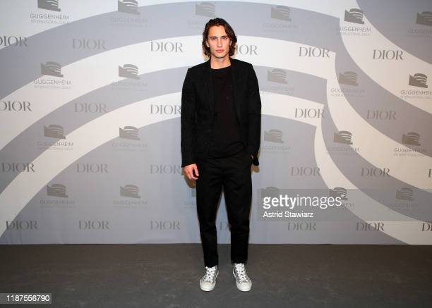 James Turlington attends 2019 Guggenheim International Gala PreParty at Solomon R Guggenheim Museum on November 13 2019 in New York City