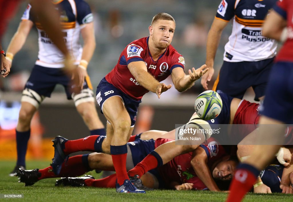 Super Rugby Rd 8 - Brumbies v Reds : News Photo