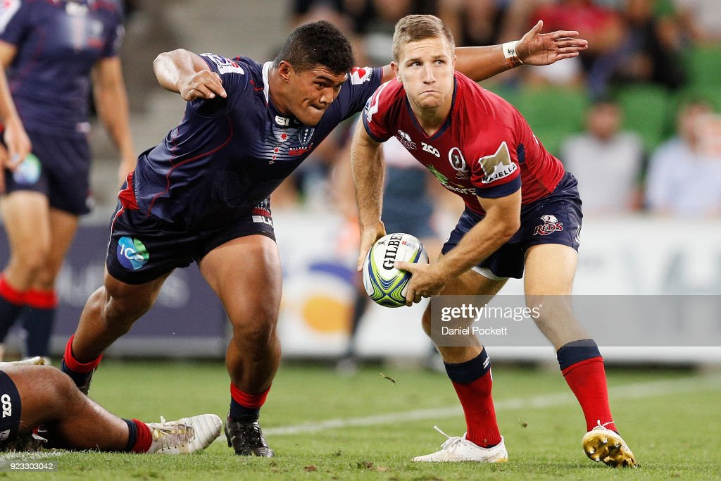 Super Rugby Rd 2 - Rebels v Reds : News Photo