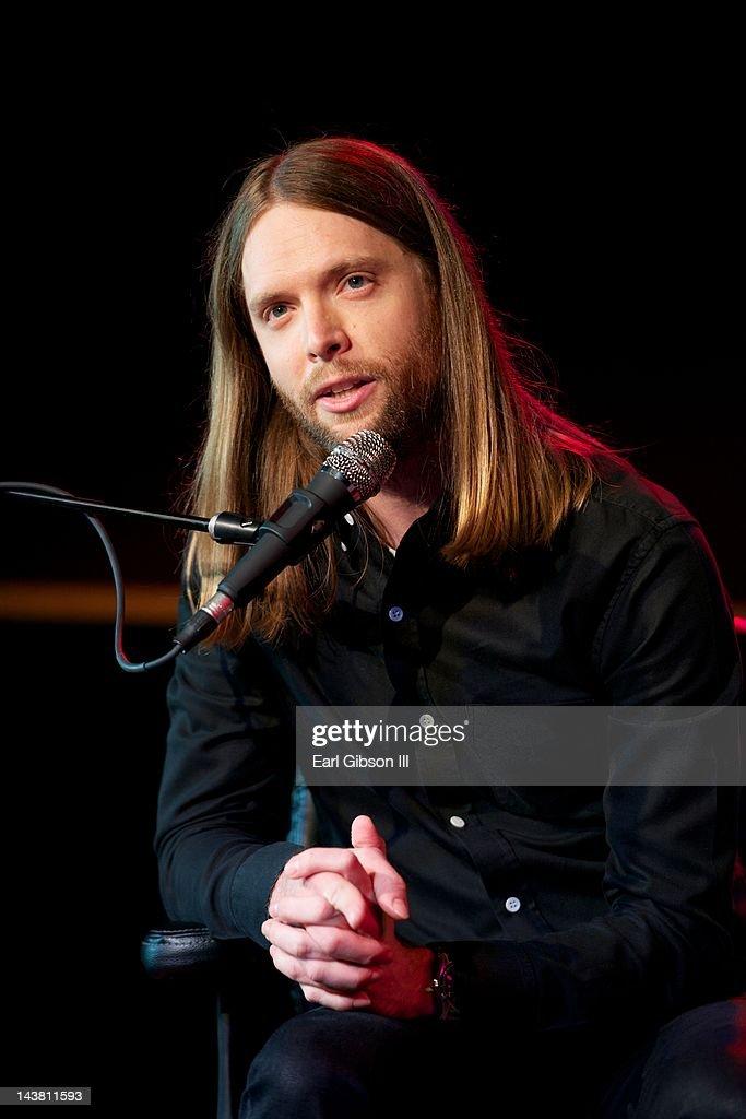 Musicians Institute Presents MI Conversation Series With James Valentine Of Maroon 5 : News Photo