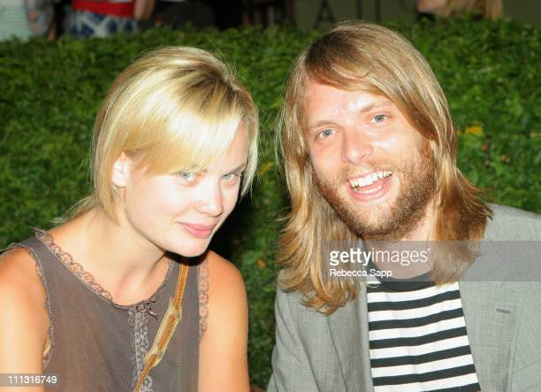 James Valentine of Maroon 5 and Katie Parfet
