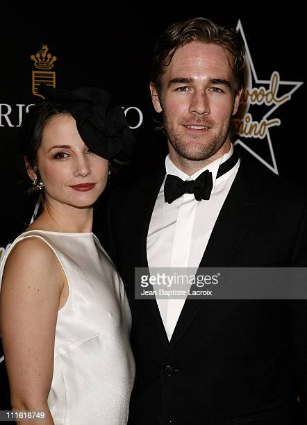 James Van Der Beek and Heather McComb attend the 1st Hollywood Domino Tournament hosted by De Grisogono at the Beverly Hills Hotel on February 21...