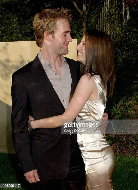 James Van Der Beek and Heather McComb during Sixth Annual Chrysalis Butterfly Ball Arrivals at Home of Susan Harris Hayward Kaiser in Mandeville...