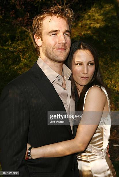 James Van Der Beek and Heather McComb during Sixth Annual Chrysalis Butterfly Ball Red Carpet at Home of Susan Harris Hayward Kaiser in Mandeville...