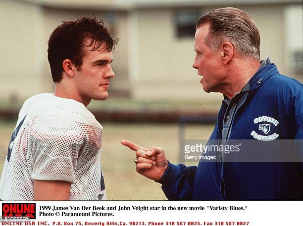 James Van Der Beek And John Voight Star In The New Movie Varsity Blues