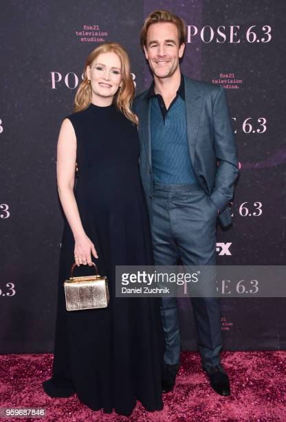 James Van Der Beek and wife Kimberly Brook attend the FX TV series New York premiere of 'Pose' at Hammerstein Ballroom on May 17 2018 in New York City