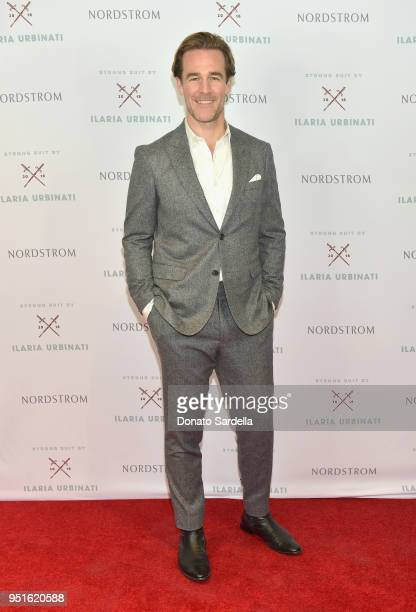 James Van Der Beek attends Strong Suit by Ilaria Urbinati Launch Party at Nordstrom Local in Los Angeles on April 26 2018