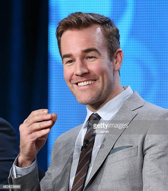 James Van Der Beek attends the 2014 TCA Winter Press Tour held at The Langham Huntington Hotel and Spa on January 15 2014 in Pasadena California