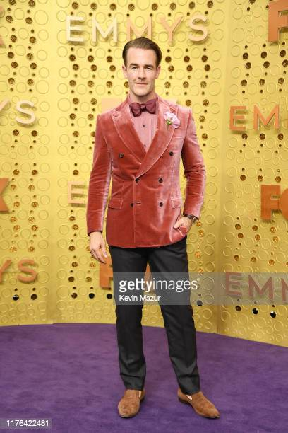 James Van Der Beek attends the 71st Emmy Awards at Microsoft Theater on September 22 2019 in Los Angeles California