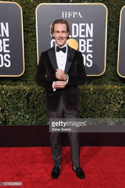 James Van Der Beek attends the 76th Annual Golden Globe Awards at The Beverly Hilton Hotel on January 6 2019 in Beverly Hills California