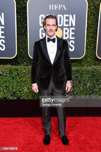 James Van Der Beek attends the 76th Annual Golden Globe Awards held at The Beverly Hilton Hotel on January 06 2019 in Beverly Hills California