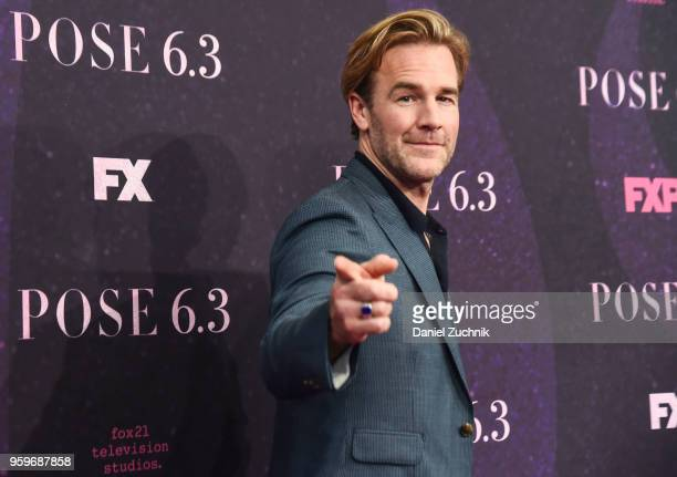 James Van Der Beek attends the FX TV series New York premiere of 'Pose' at Hammerstein Ballroom on May 17 2018 in New York City