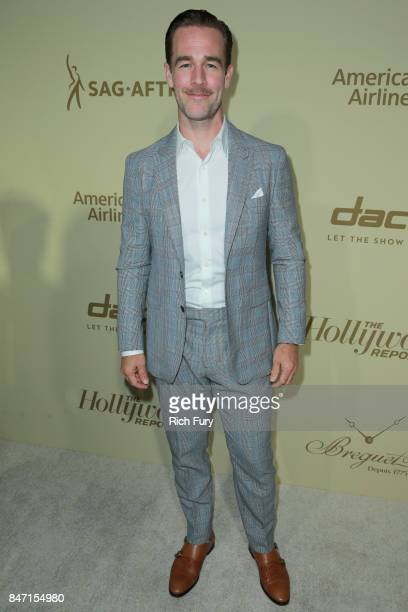 James Van Der Beek attends The Hollywood Reporter and SAGAFTRA Inaugural Emmy Nominees Night presented by American Airlines Breguet and Dacor at the...