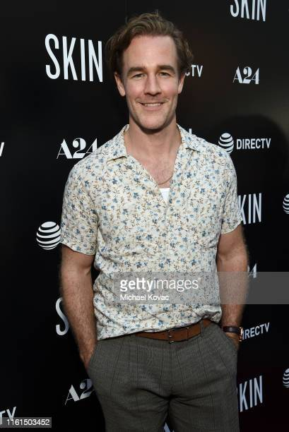 James Van Der Beek attends the Los Angeles Special Screening of SKIN at ArcLight Hollywood on July 11 2019 in Hollywood California